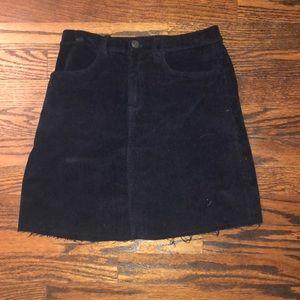 Brand new navy brandy Melville skirt!